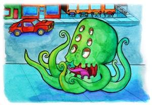 Green-eyed monster!